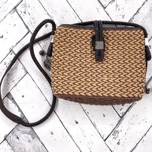 Brighton Straw Crossbody Bag